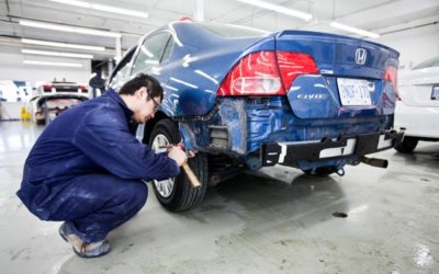 Why You Should Take Your Vehicle to an Auto Body Shop after a Fender Bender