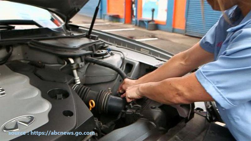 Repair Work Keeps The Vehicle On The Road
