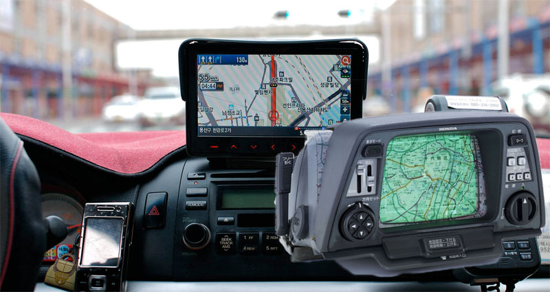 Automotive GPS along with the Evolution of the Road Trip